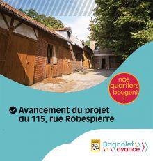 Projet 115 rue Robespierre